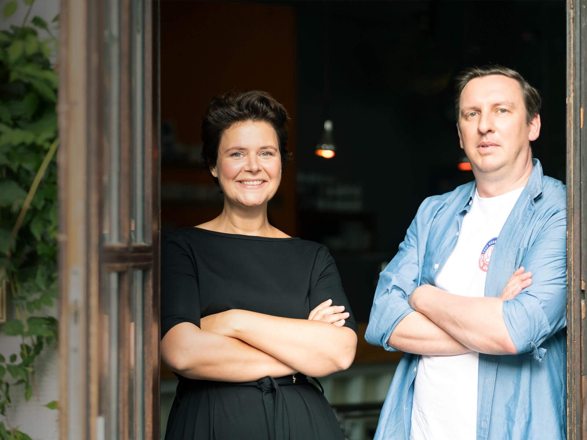 Anne Tücking und Tilmann Horch, Jäger Health